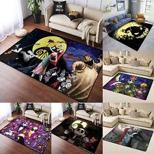 The Nightmare Before Christmas Area Rug Living Room Bedroom Floor Mat Carpet