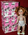 Vintage Vogue / Ginny Redhead Blue Eyed Jointed Plastic Doll w/ Box  7-inch