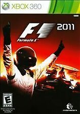 XBox 360 F1 Formula 1, 2011 Racing Game - Factory Sealed