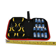 A 10 in 1 Screwdriver and Pliers Tool Kit for Helicopter, Airplane,RC Model Car