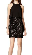 Guess New Sequin Chiffon Popover Sheath Dress Size 2 MSRP $158 #DN 1190