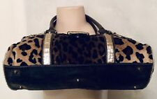 GUESS Jungle Animal Print Studded Shoulder Purse Bag Great Condition