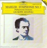 Mahler : Symphonie (Symphonie) No 5 / Sinopoli - CD Deutsche Grammophon