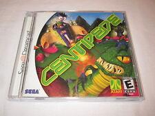 Centipede (Sega Dreamcast) Original Release Game Complete Excellent!