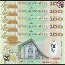 Papua New Guinea - 100 Kina 2008 - Pick- 37 - COMMEMORATIVE - Set 5 PCS- UNC
