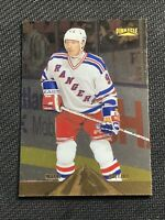 1996-97 PINNACLE WAYNE GRETZKY FOIL GOLD #1 RANGERS