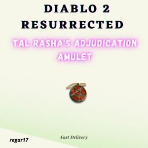 Diablo 2: Resurrected Softcore D2R Tal Rasha's Adjudication Amulet PC All Region