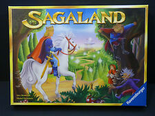 2007 Sagaland Family Board Game 100% COMPLETE by Ravensburger GUC