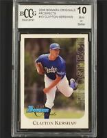 2006 Bowman Originals Prospects CLAYTON KERSHAW Dodgers RC Rookie card BCCG 10