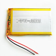 3.7V 3000 mAh 405585 Li-ion polymer Battery For Tablet PC PAD phone Power bank