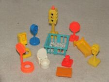 Vintage Fisher Price Plus Unbranded Mixed Bundle 1970's/80's Good Condition