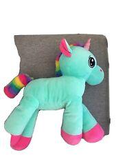 Plush Colourful Unicorn Stuffed Toy Little Girls Room