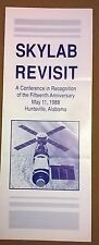 NASA Skylab Revisit May 11, 1988 Huntsville AL 8-page fold-open brochure