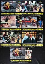 Fotobusta THE LAST Combat By Chen Game Of Death Bruce Lee Kung Fume R45