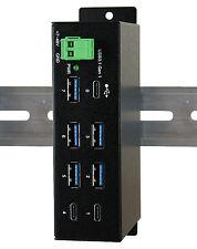 Exsys ex-1196hms - 7 puerto USB 3.0/3.1 (gen1) Hub con 2x C – y 5x a-Ports