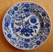 """Porzellan-Kuchenteller BLUE ASTER Teller von August WARNECKE """"  Top Zustand"""