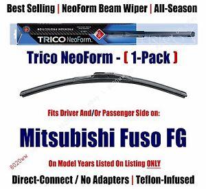 Super Premium NeoForm Wiper Blade Qty 1 fit 1990-1993 Mitsubishi Fuso FG - 16190