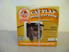 """Ideal # Spf Pet Products Cat Flap Small Cat Door Locking - 6 1/4"""" - New In Box"""