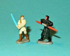 STAR WARS Micro Machines EPISODE 1 - OBI-WAN & DARTH MAUL playset figures lot P