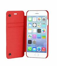 stm red flip wallet case  iphone 6 plus