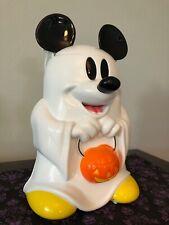 Disney Mickey Mouse Ghost Trick Treat Popcorn Candy Bucket Halloween World Wdw