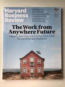 **Harvard Business Review Magazine November/December 2020 - Used VGC**