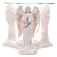 Praying Angel Oil Burner White 11 x 12 x 10 cm