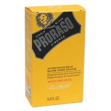 Proraso Wood & Spice After Shave Balm 100ml (3.4 fl.oz) BNIB