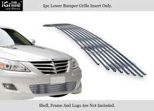 Fits 09-11 2011 Genesis Sedan Lower Bumper Stainless Steel Billet Grille