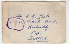 MOZAMBIQUE: 1945 censored airmail cover to Scotland (C30842)