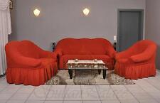 STRETCH SOFABEZUG SOFAHUSSE 1er,2er- oder 3er COUCH SOFA BEZUG HUSSE, 13 Farben