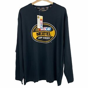 Nascar Mens Nextel Cup Series Long Sleeve T Shirt Officially Licensed New Sz XL