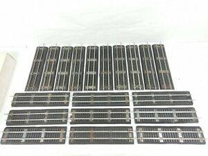 19x Sections American Flyer 726 Straight Track with Roadbed S Gauge SEE PICS