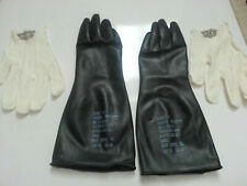 Sealed Unissued Us Army Military Surplus Chemical Gloves - Nbc Biological Small