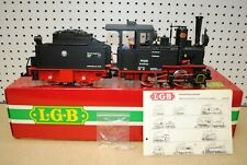 LGB 2015D 0-4-0 992015 Steam Locomotive w/Smoke & Powered Tender *G-Scale*
