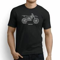 Yamaha YZ250 2017 Inspired Motorcycle Art Men's T-Shirt