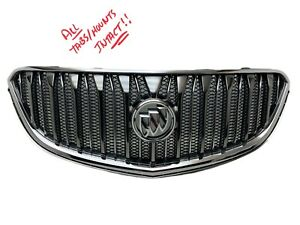2013 2014 2015 2016 2017 BUICK ENCLAVE GRILLE GRILL CHROME OEM 13 14 15 16 17