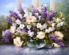 Lilac bouquet still life Giclee Art Oil painting HD printed on canvas L3031