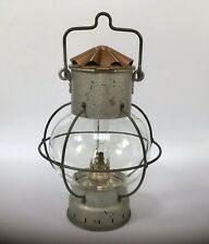 Vintage/antique Ships Onion Lamp With Brenner Burner Nautical Oil Lamp