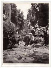 c.1860's PHOTO - ITALY VALLATE DI SORRENTO SOMMER CAPRI
