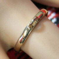 9 ct gold new finger ring for attaching charm