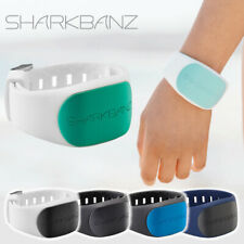 SHARKBANZ 2 Magnetic Shark Repellent Band Ankle Wrist surfing Slate Black White