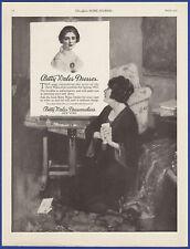 Vintage 1922 BETTY WALES Dresses Dressmakers Fashion Decor Ephemera 20s Print Ad