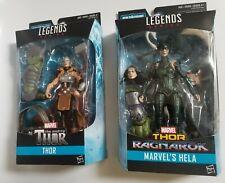 Hasbro Marvel Legends HELA and She Thor Ragnarok Hulk BAF New Sealed Lot