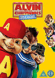Alvin And The Chipmunks 2 - The Squeakquel (DVD, 2012)