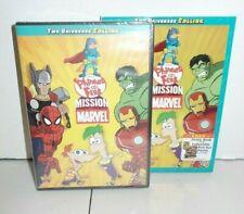 Disney Phineas and Ferb Mission Marvel Full Adventure, 8 Bonus Episodes & Poster