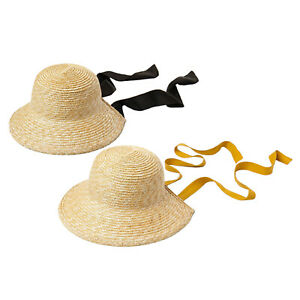 Kids Girls Straw Hat Sun Protection Summer Visor Sun Hats Outdoor Caps
