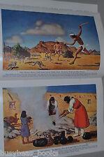 1940 magazine articles Native American Tribes, Indians, Southwest USA, Pueblo