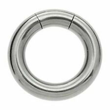 Surgical Steel Smooth Segment Ring - 6 x 16mm