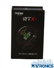 GolfBuddy Wtx+ (Plus) Smart Golf Gps Watch 2Alg4Wtx - Black